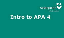 Intro to APA 4: Document Formatting & Proofreading