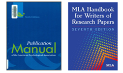 What are MLA & APA?